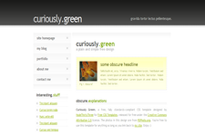 CuriouslyGreen